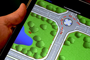 IPad To Support Driving Lesson